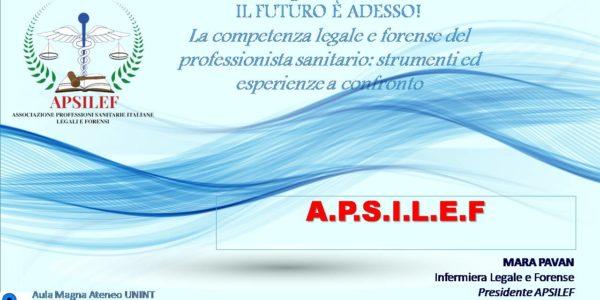 1° Congresso Nazionale APSILEF