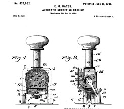 Bates Automatic Numbering-Machine